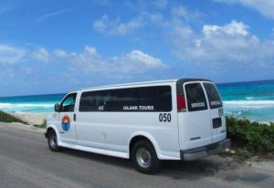 Cozumel Island Tour van