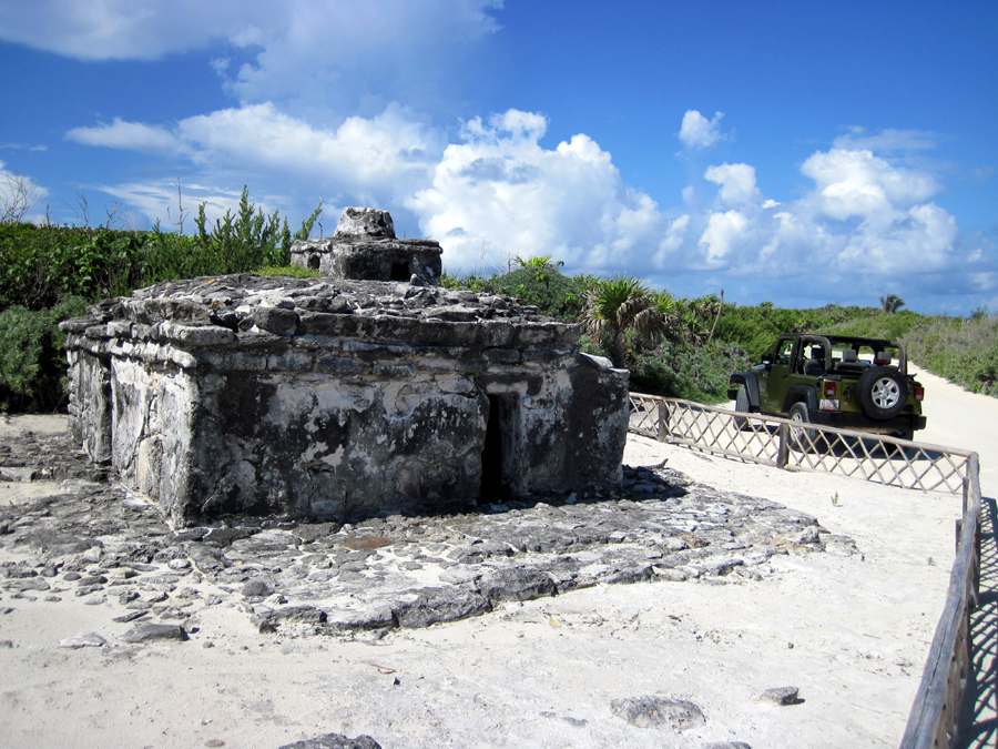 Cozumel Jeep Excursion Mayan Ruins