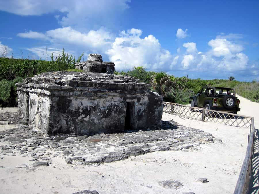 Cozumel Jeep Excursion Mayan Ruins