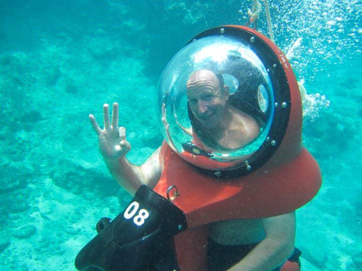 Cozumel Mini Sub Underwater