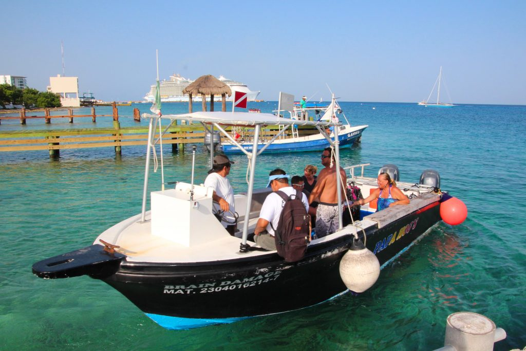 Cozumel Private Snorkeling Fast Boat