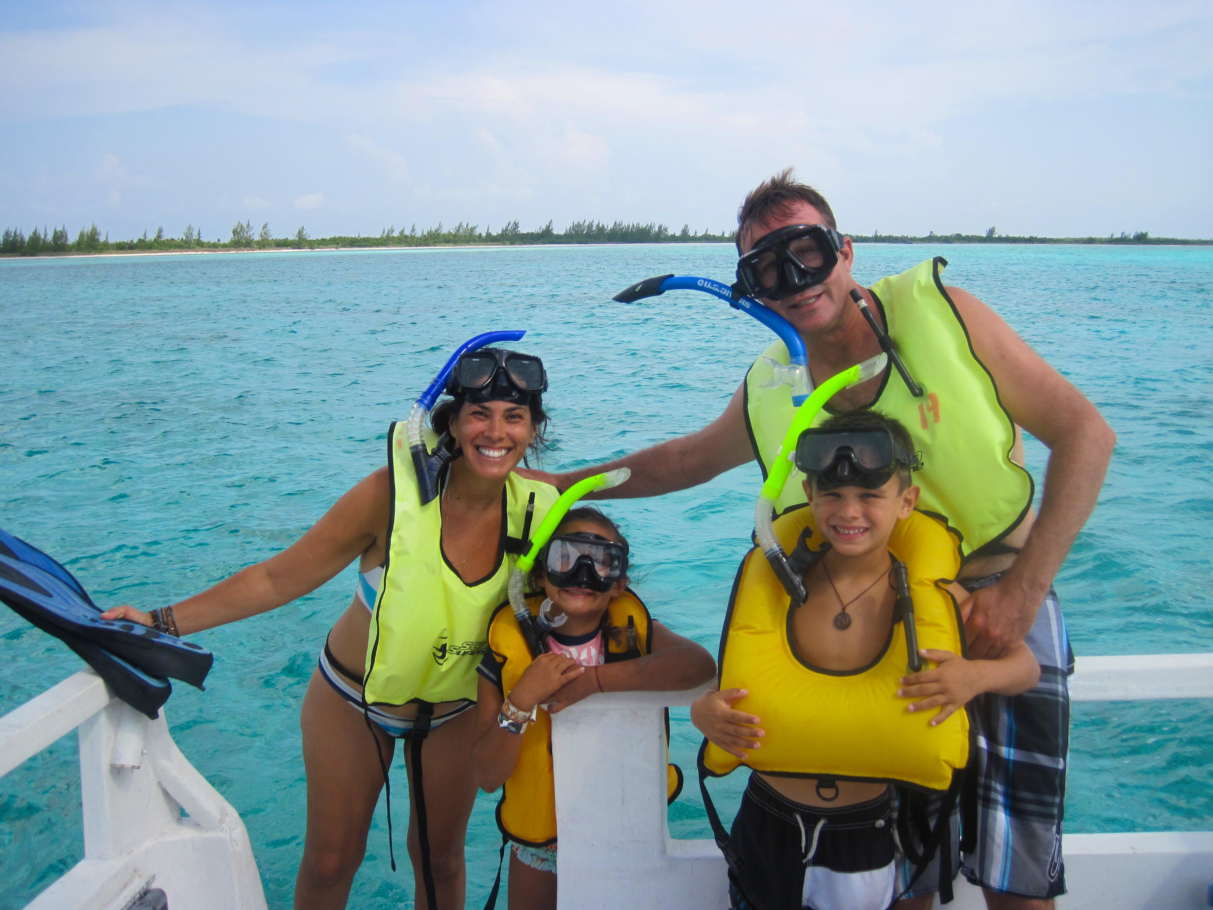 Private Snorkeling Palancar Family
