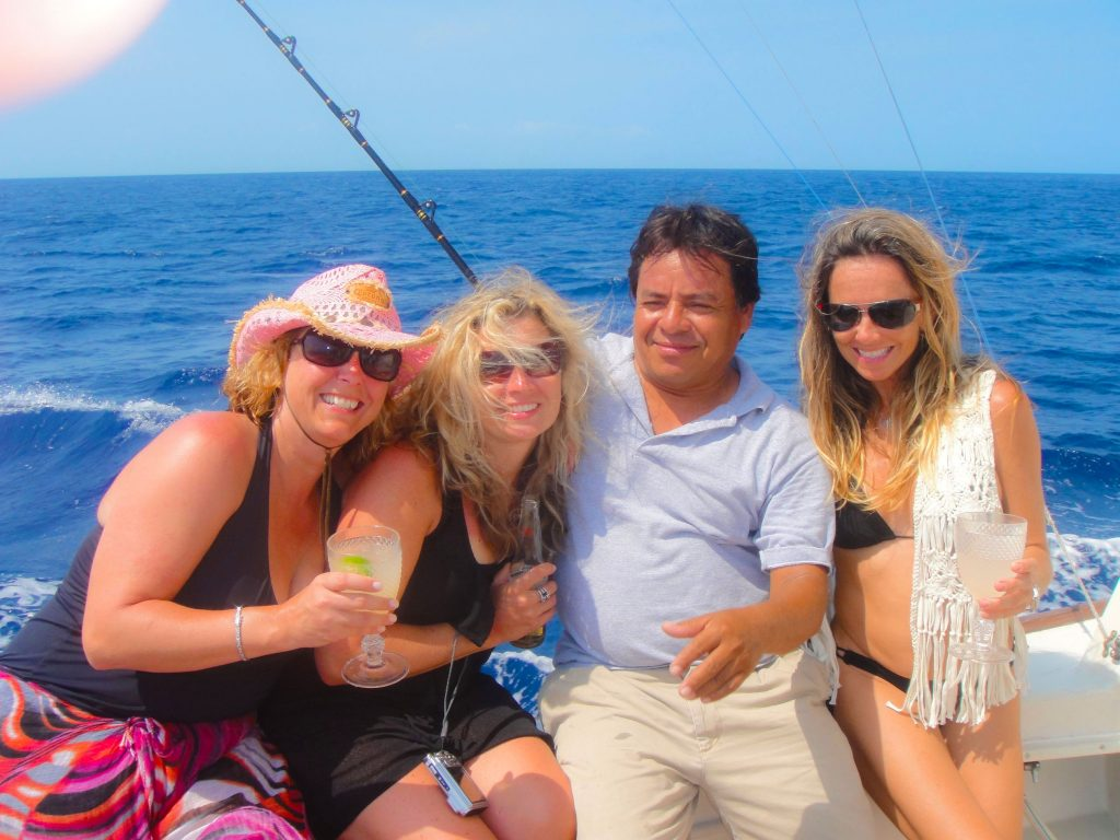Private deluxe boat charters in Cozumel