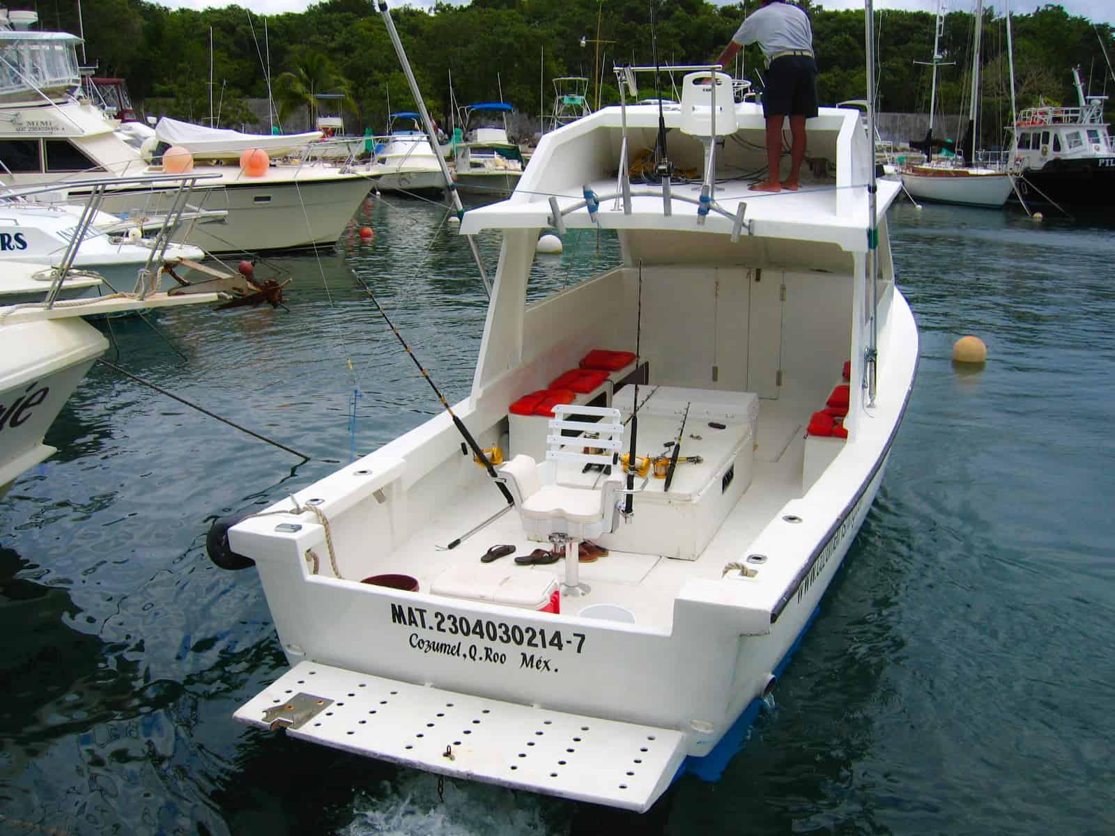 Cozumle deep sea fishing cozumel cruise excursions for Deep sea fishing st thomas