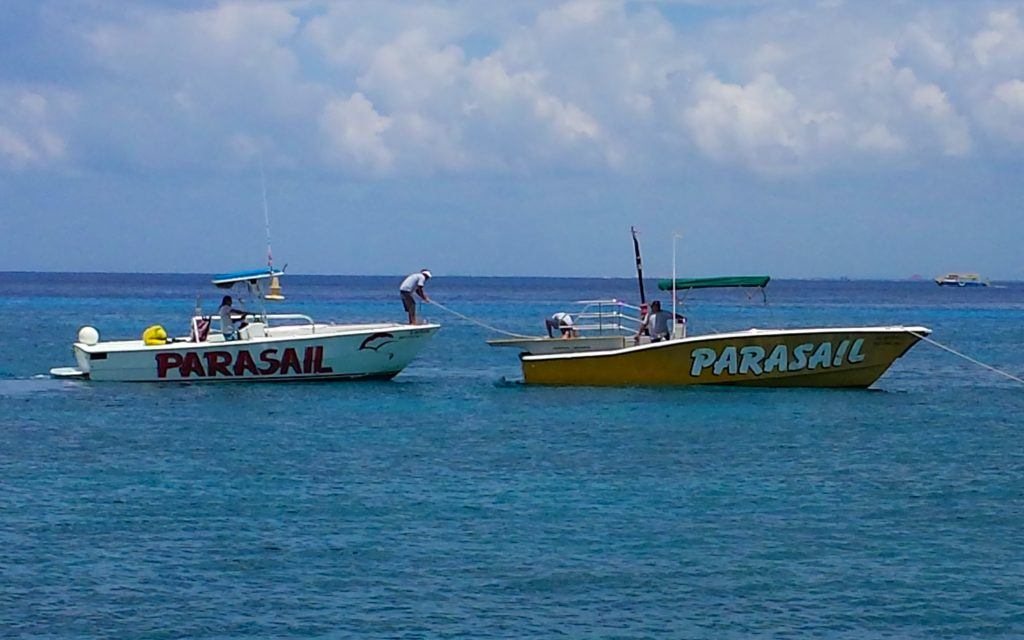 Cozumle Parasailing Boats