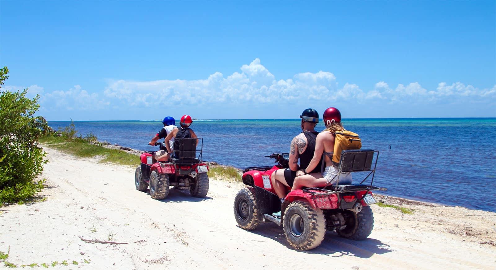 Cozumel Island Tour Atv Mai Cozumel Cruise Excursions