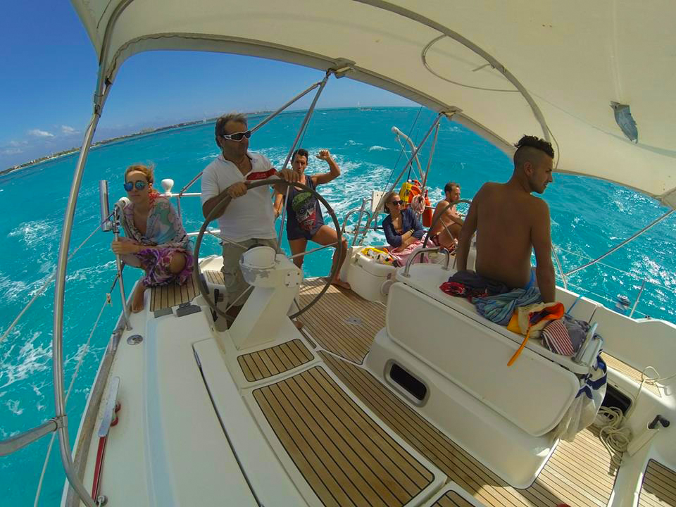 Cozumel private sailing charter