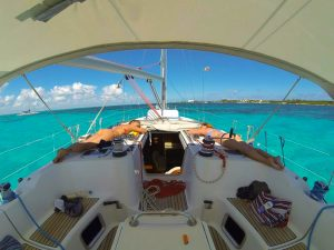 Cozumel private sailing charter 45'