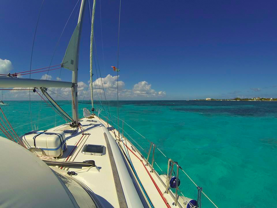 Cozumel private sailboat charter